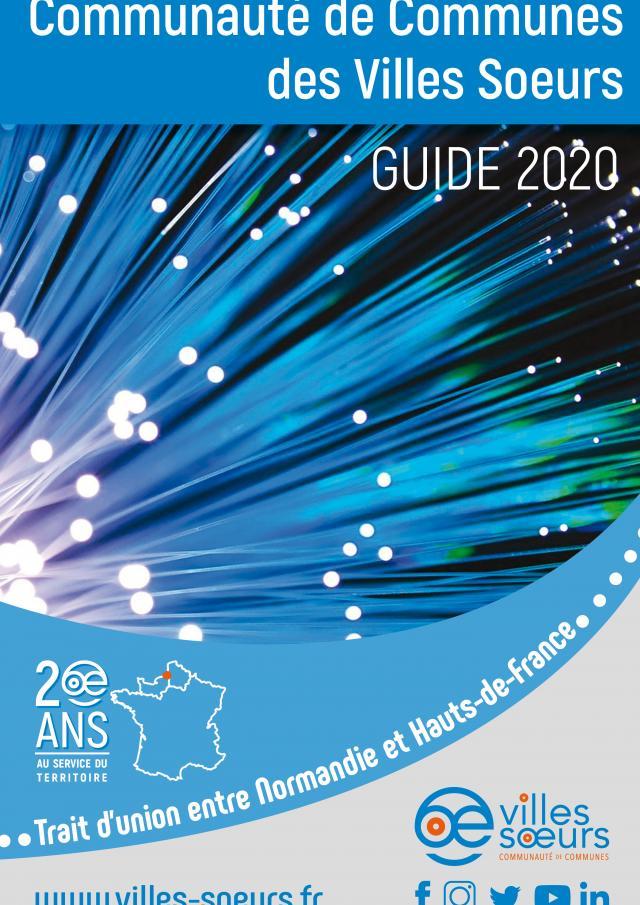 Guide 2020 Communaute De Communes Des Villes Soeurs Couverture