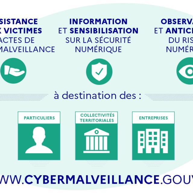Banniere Institutionnelle Cybermalveillance